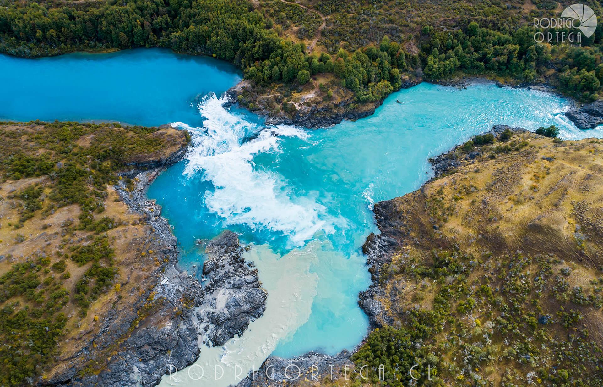 Confluencia Río Baker y Neff, Región de Aysén